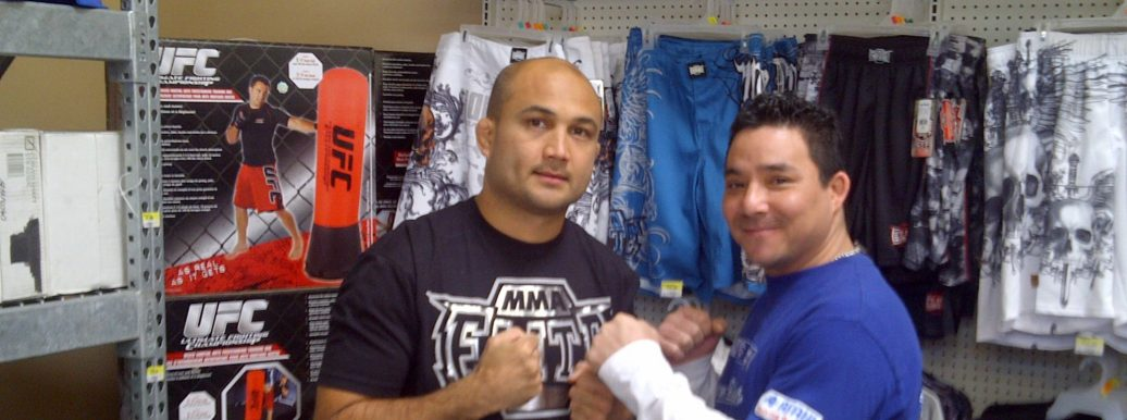 Wakafighter and The Prodigy BJ Penn