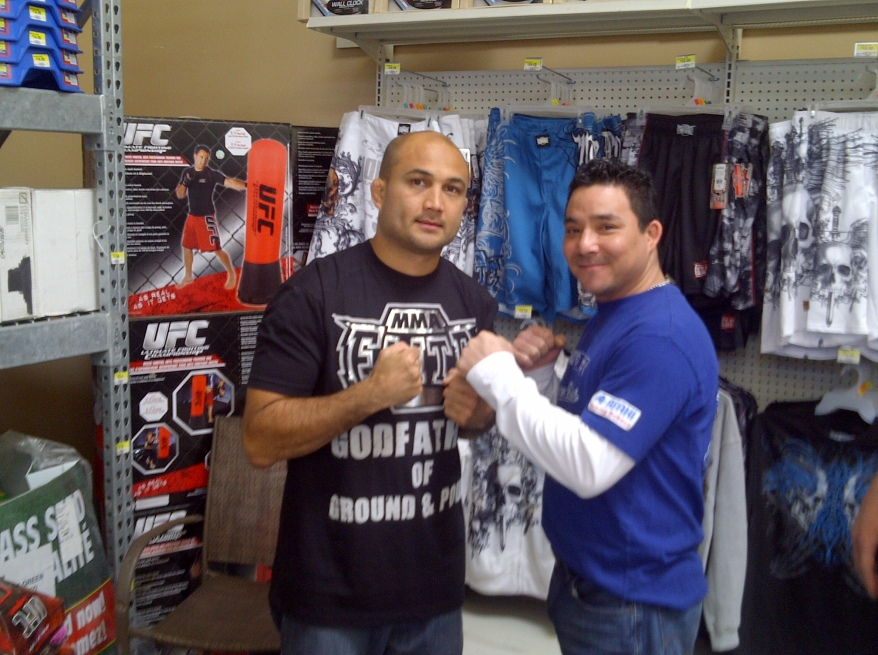 Me and The Prodigy BJ Penn