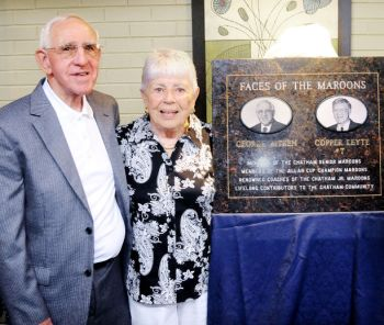 Mr and Mrs Aitken honoured