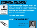 "Novel ""The Choir Boy"" Set For Summer Release"